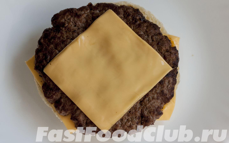 котлета и сыр