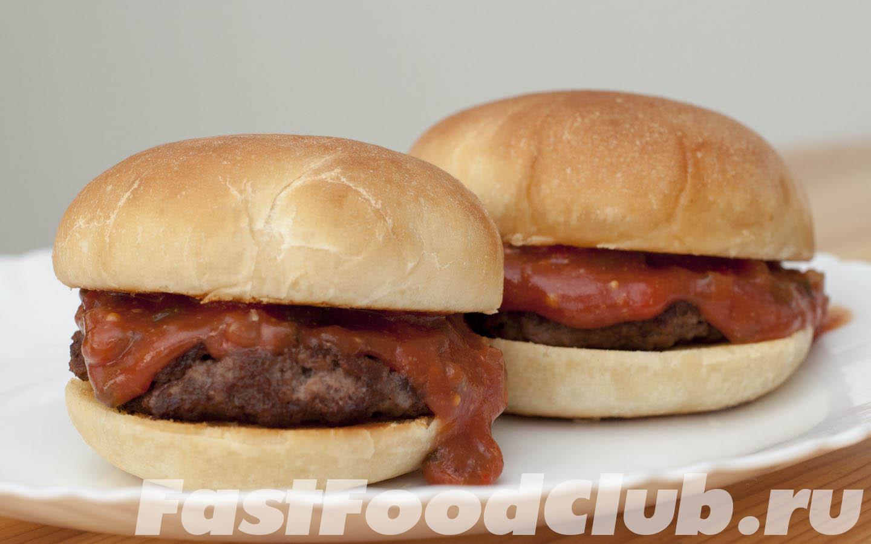 гамбургер простой рецепт